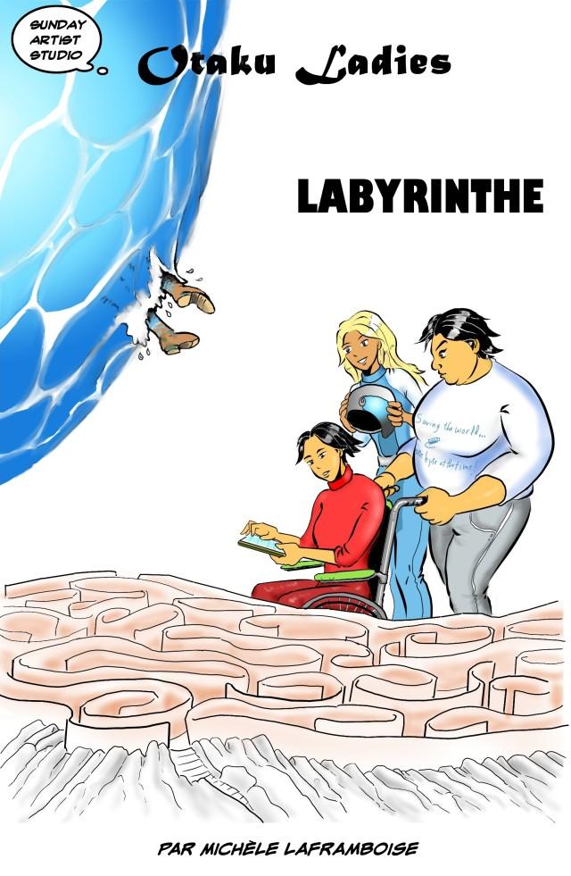 Labyrinthe, couverture de la version française de Control Game